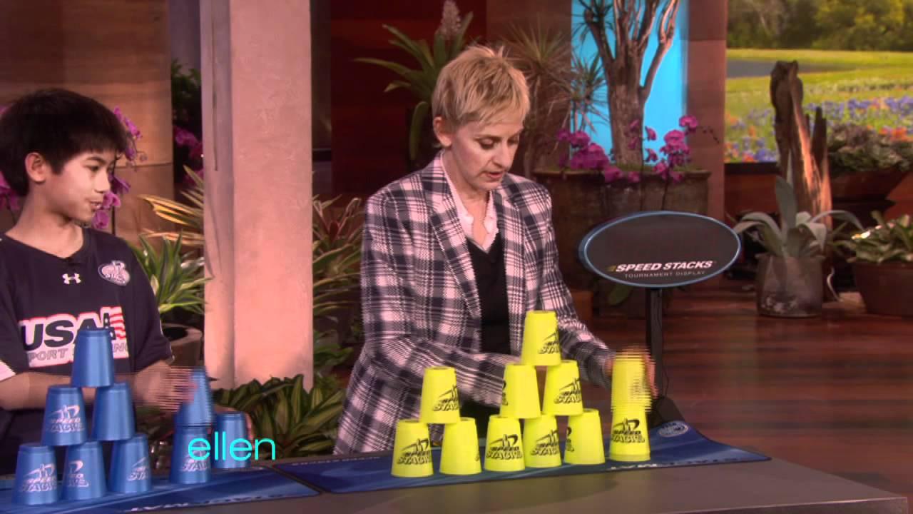 Ellen Gets Stackin'