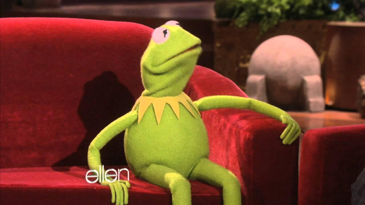 Ellen Meets Kermit!