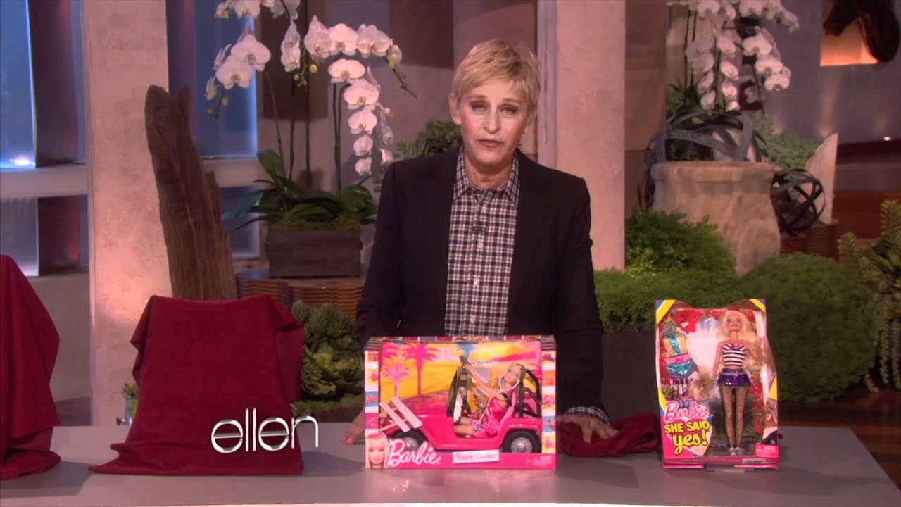 Ellen Reveals a New Barbie