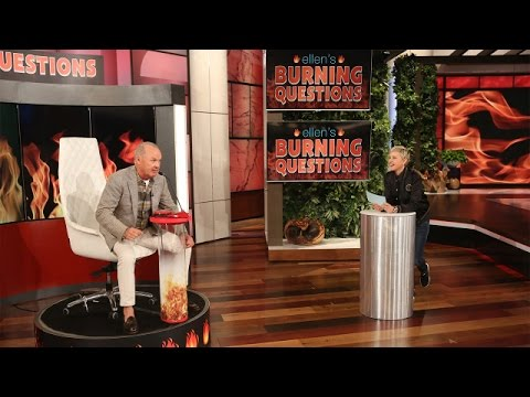 Ellen's Burning Questions with Michael Keaton