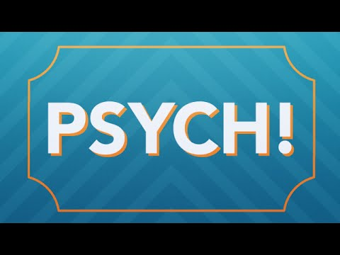 Ellen's New Game, 'Psych!'