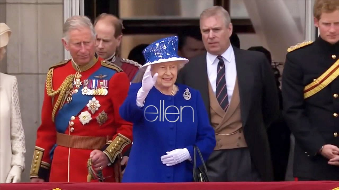 Ellen's Royal Welcome