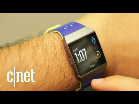 Fitbit's new smartwatch, Ionic, up close: Is it an Apple Watch killer?