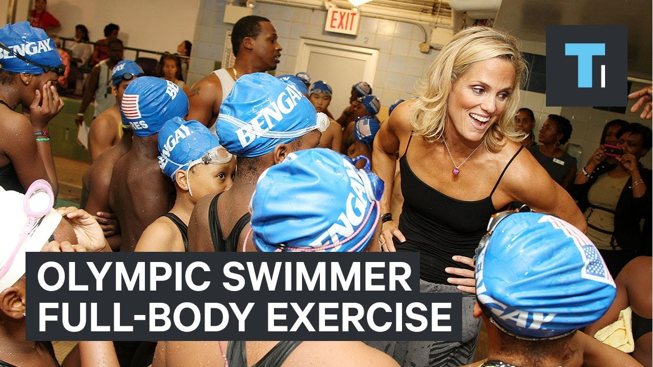 How a retired Olympic swimmer stays in amazing shape