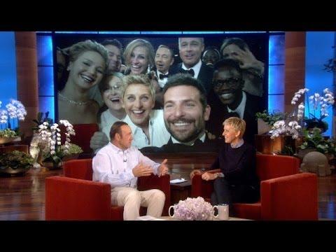 Kevin Spacey's Oscar Selfie Story
