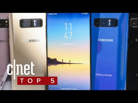 Samsung Galaxy Note 8: Why you should buy it (and why you shouldn't) (CNET Top 5)