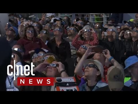 Solar eclipse wows millions across the US, see it all
