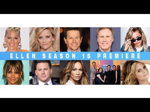 SOMETHING BIG IS COMING! ELLEN'S SEASON 15 PREMIERE SEPTEMBER 5