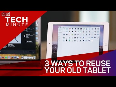 Tech Minute – 3 ways to reuse your old tablet (Tech Minute)