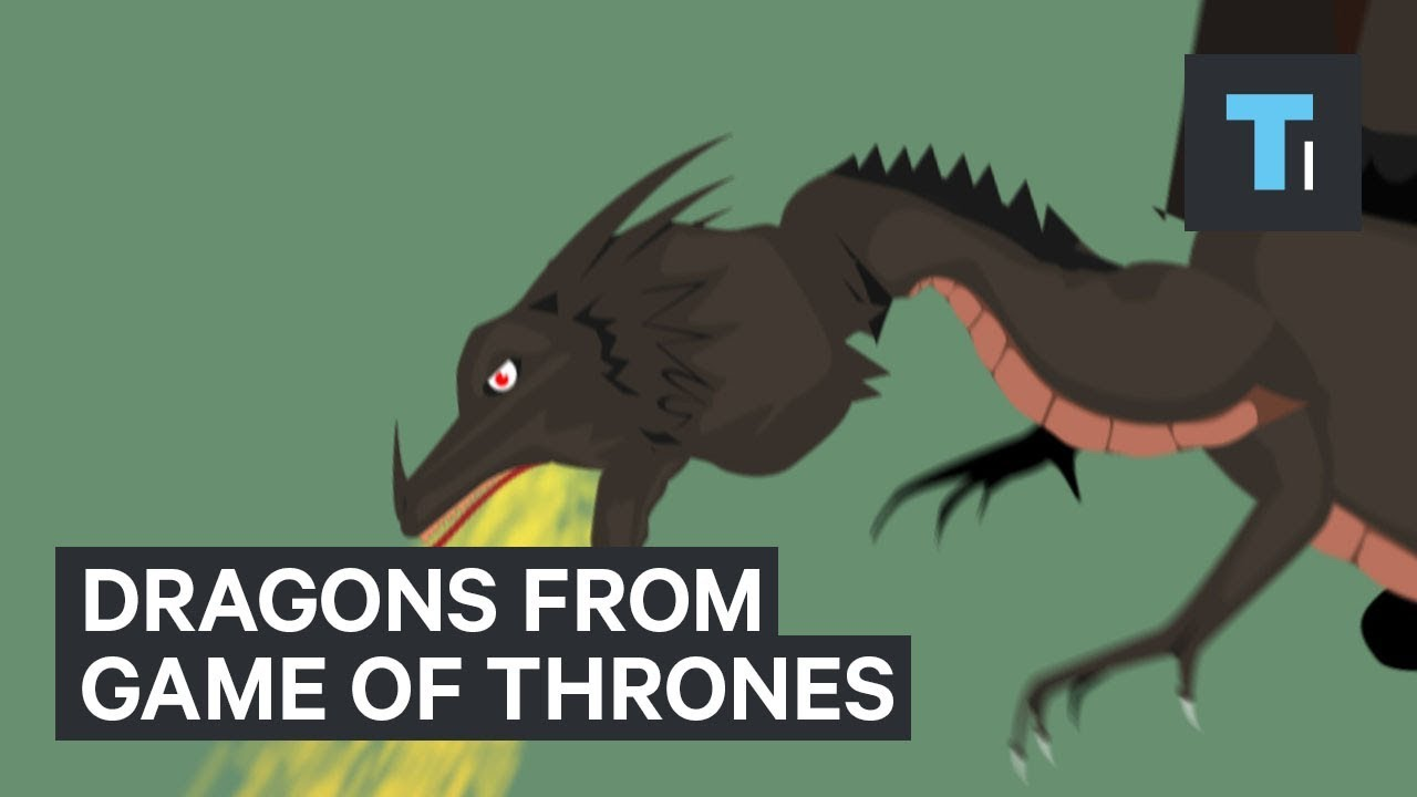 The dragons from Game of Thrones have some real-life counterparts