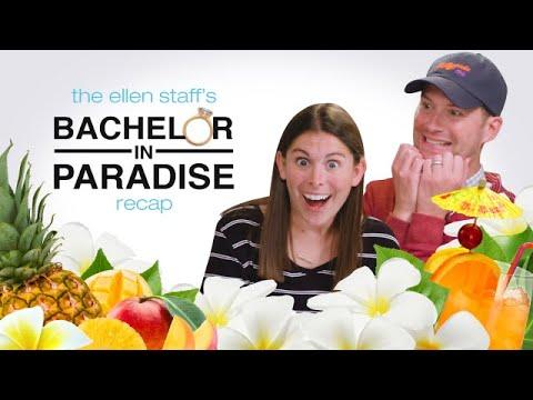 The Ellen Staff's 'Bachelor in Paradise' Recap: Love Triangles + Scallop Fingers