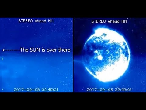 AGAIN, a Strange Phenomenon Appeared on NASA's Stereo Ahead HI1 Satellite