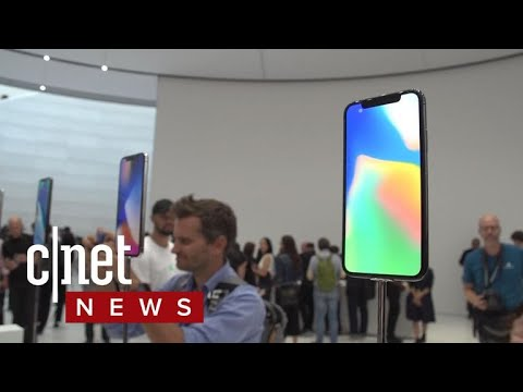 Apple iPhone X is all about your face (CNET News)