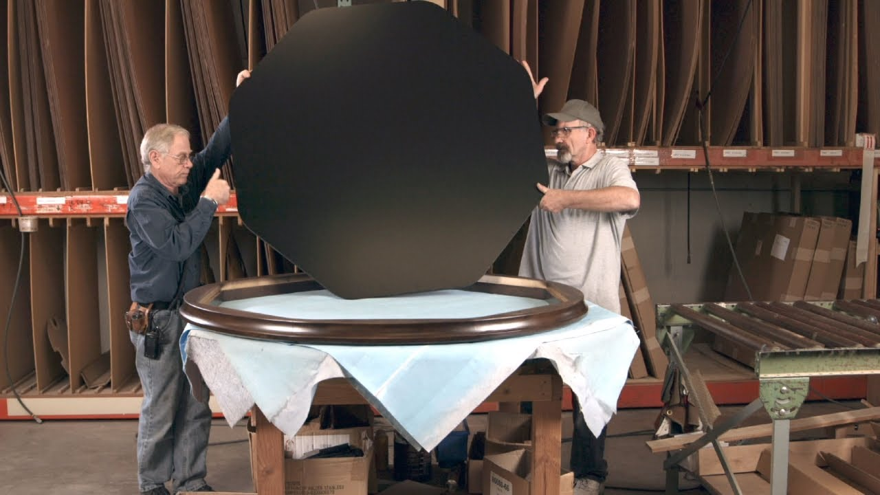 Before You Ante Up, Here's How Gaming Tables Are Made