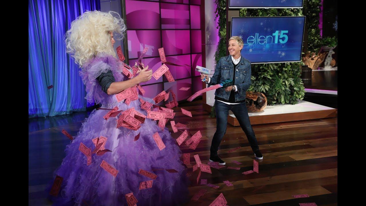 Channing Tatum Lets It All Go for Ellen