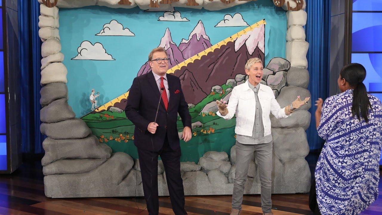 Drew Carey Brings 'The Price Is Right' to Ellen