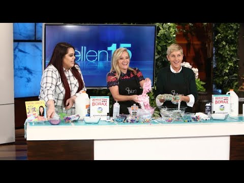Ellen and Reese Witherspoon Get Slimed
