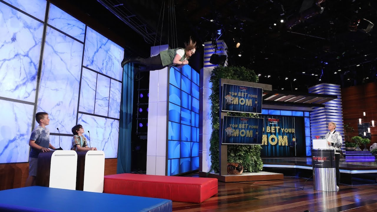 Ellen Brings Her Fans to New Heights with 'You Bet Your Mom' Game