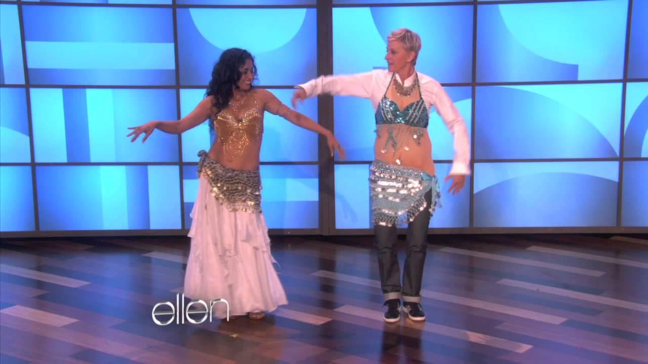 Ellen Learns to Belly Dance