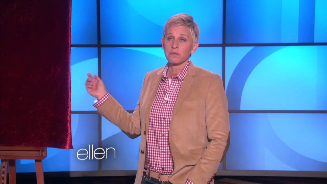 Ellen Scares Andy and His Phone