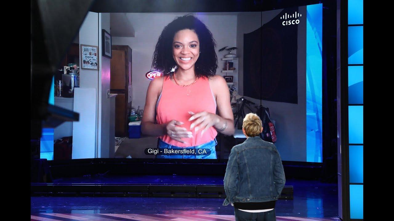 Ellen Surprises Superfan Dancer