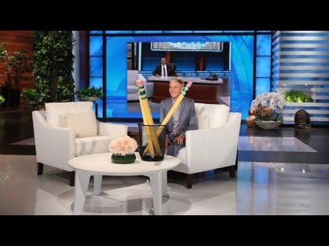 Ellen's Big Surprise For Her Pal Steve Harvey