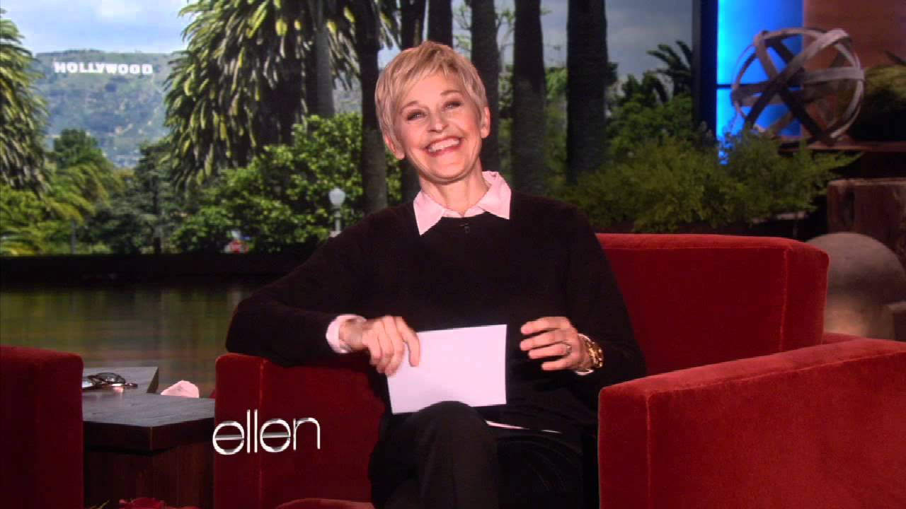 Ellen's Proposal: Real or Fake?