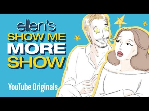 Ellen's Sketchbook: David Spade Meets Adele