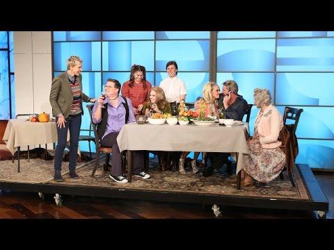 Ellen's Thanksgiving Seating Strategy