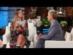 Heidi Klum Plays 'Speak Out'