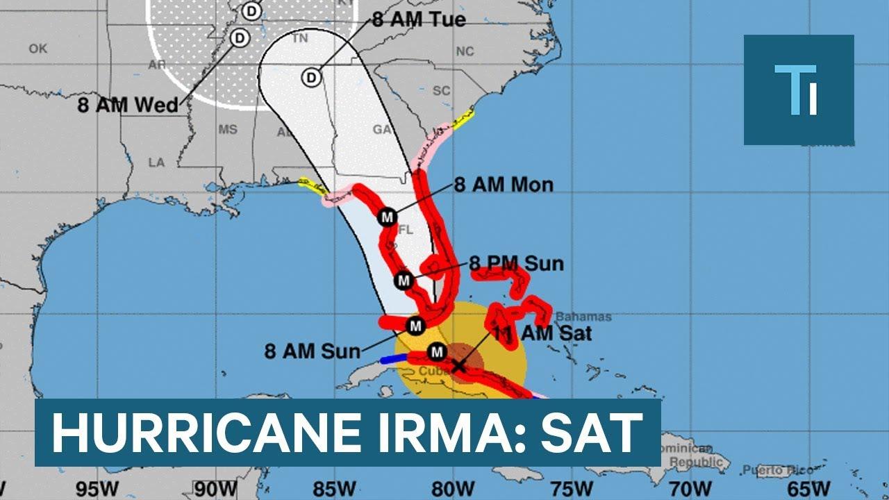 Hurricane Irma slams Cuba as Category 5 storm