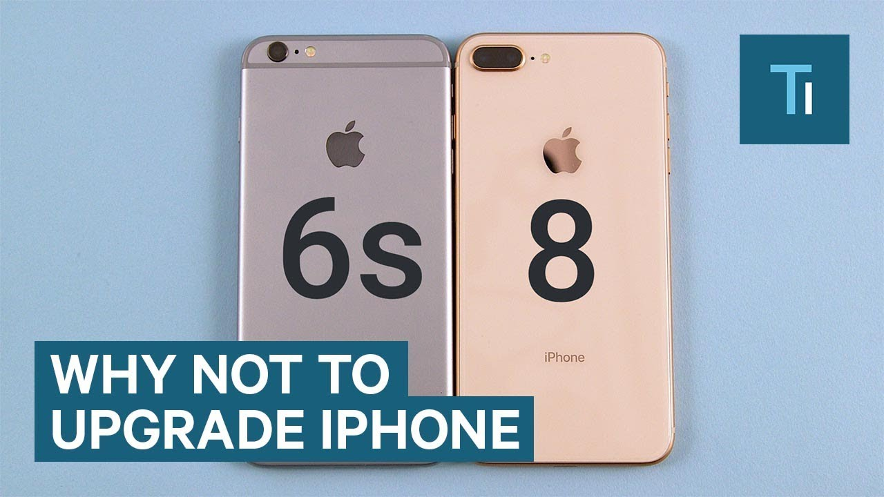 I won't trade in my iPhone 6s for an iPhone 8 or iPhone X