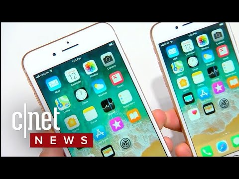 iPhone 8 debuts with wireless charging (CNET News)