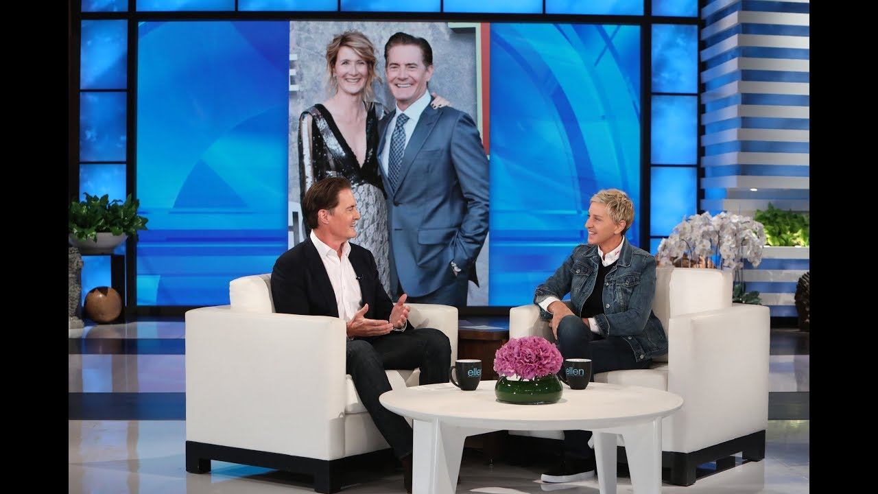 Kyle MacLachlan Opens Up About His Sex Scene with Real-Life Ex Laura Dern