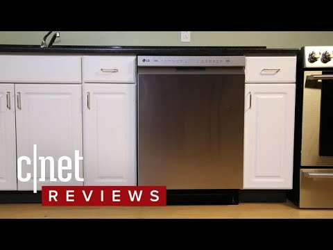 Lots of little touches elevate LG's Quad Wash dishwasher