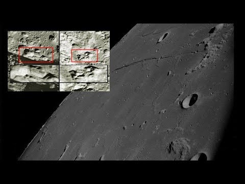 Massive buildings constructed on the lunar surface discovered in NASA's Apollo 8 Archive
