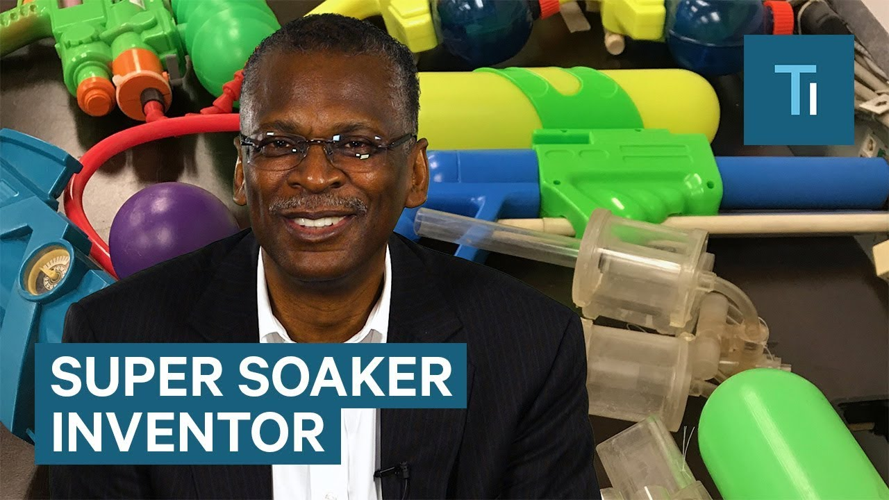 Meet the man who invented the Super Soaker
