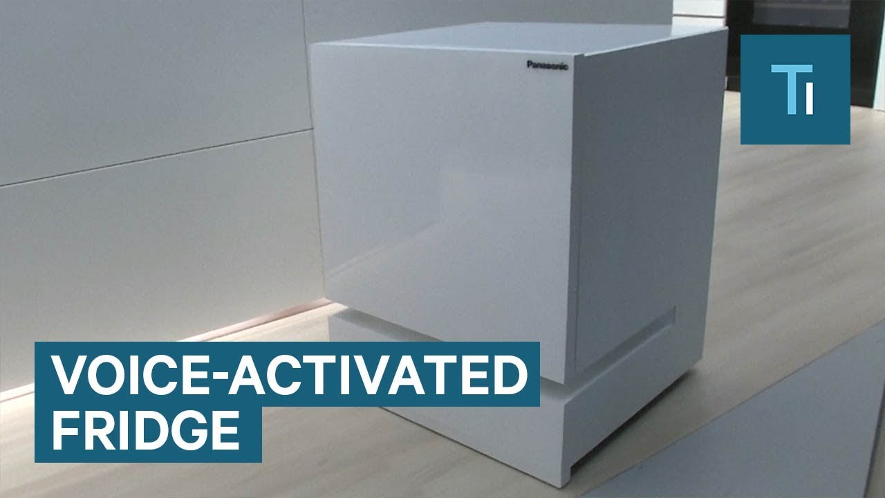 Panasonic has revealed a fridge that drives to you when called