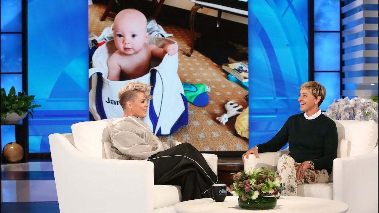 P!nk Opens Up About Her Resilient Daughter, & Breastfeeding Her Son
