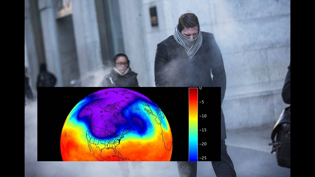 Polar Vortex is on the move and can create Very Cold Winters in the US and Europe !!