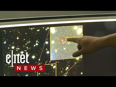 Repeating radio signals coming from space (CNET News)