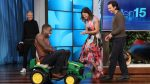 Sterling K. Brown Strips Down on a Tractor Just for Ellen
