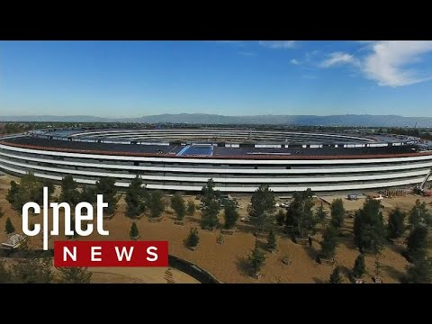 Steve Jobs' vision for new Apple campus now reality (CNET News)