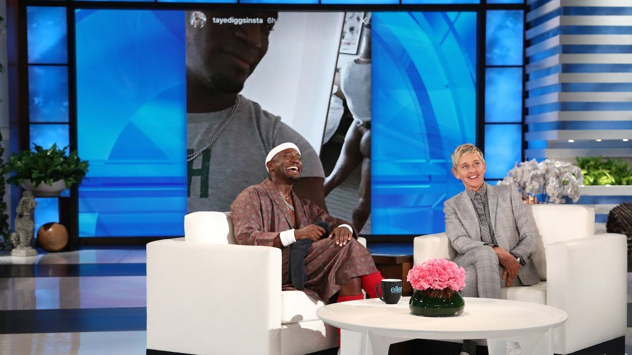 Taye Diggs Bared His Butt for the 'Gram