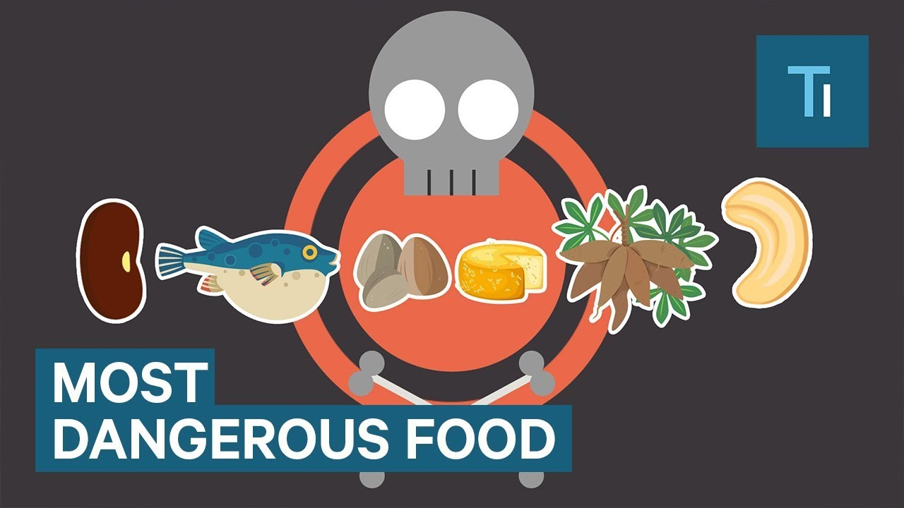 These are 6 of the most dangerous foods in the world