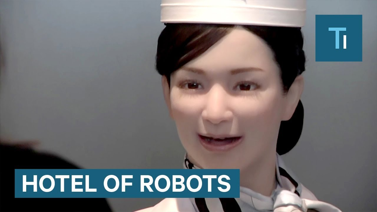 These Japanese hotels are run almost entirely by robots