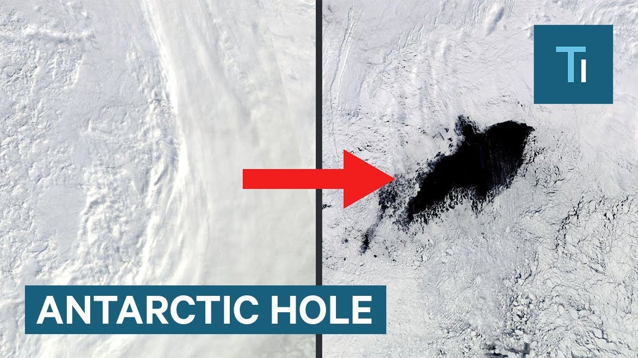 A mysterious 'hole' has reappeared in the middle of Antarctica