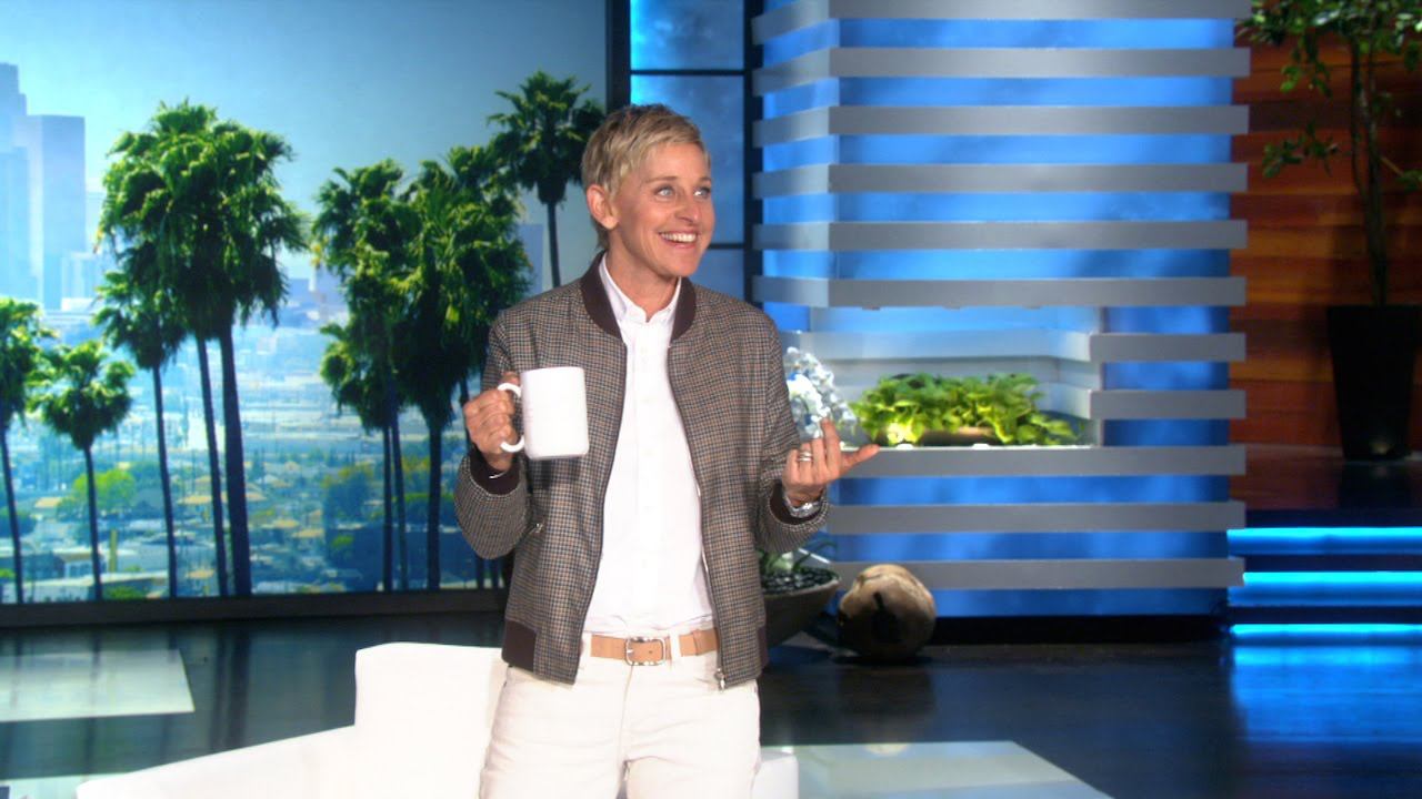 A Surprise Auction in Ellen's Audience