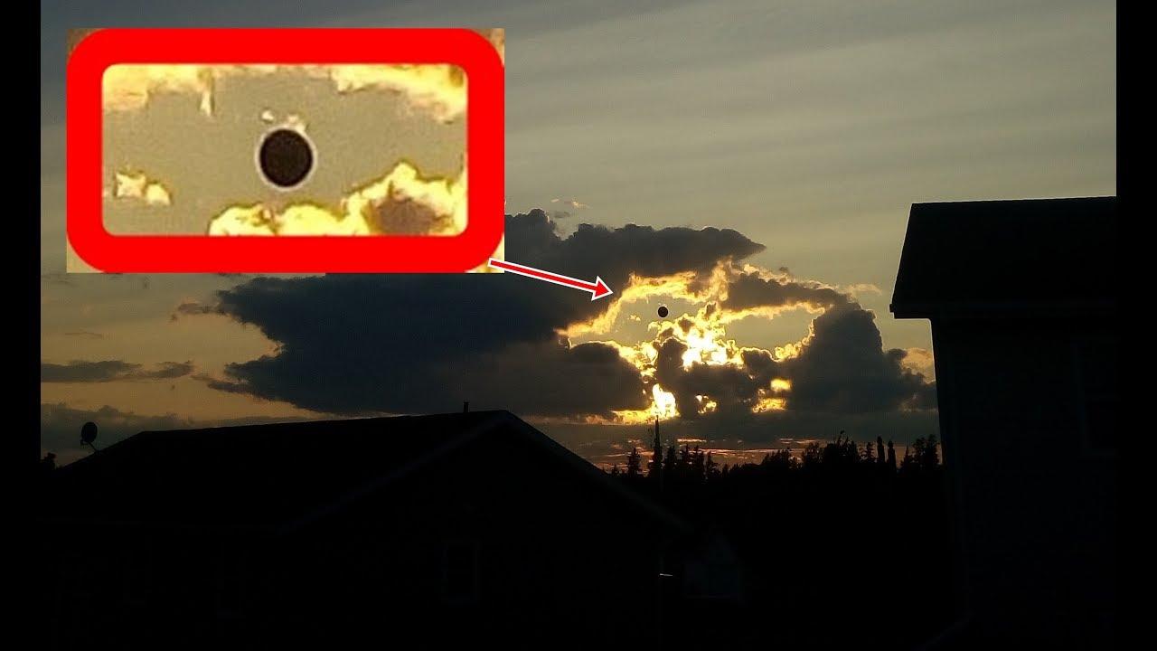 Black Sun photographed over Prince Edward Island, Canada