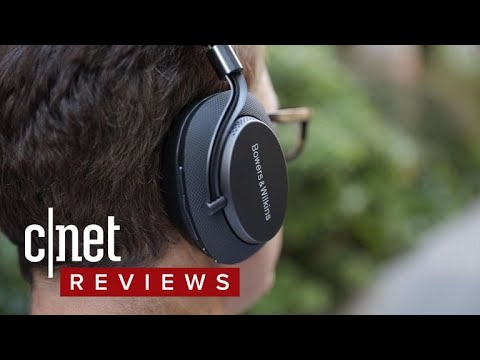 Bowers & Wilkins' PX wireless noise-cancelling headphone looks great